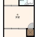 101・205号室洋室タイプ