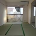 和室ベランダ側・写真は202号室