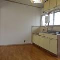 キッチンスペース・写真は103号室のものとなります。