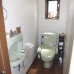 1階トイレ・(動産は撤去)