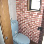 2階トイレ・(動産は撤去)